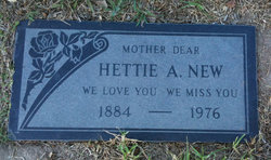 Hettie A New