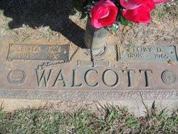 Toby D Walcott