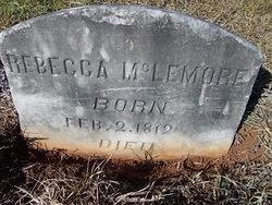 Rebecca <I>Hughes</I> McLemore