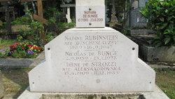 Nadine <I>Wischeslavzev</I> Rubinstein