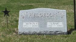 Lana Marie <I>Matson</I> Helgeson