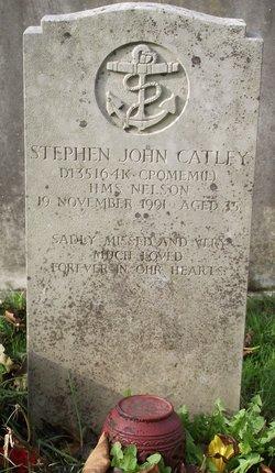 CPO Stephen John Catley
