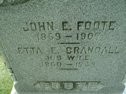 Etta Esther <I>Crandall</I> Foote