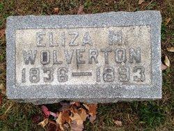 Eliza M. <I>Sergeon</I> Wolverton