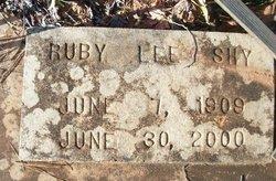 Ruby Lee Shy