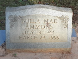 Buela Mae Ammons
