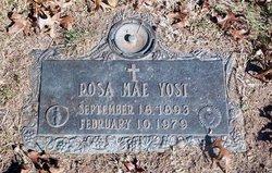Rosa Mae Yost