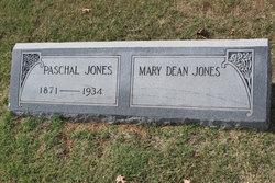 Mary <I>Dean</I> Jones