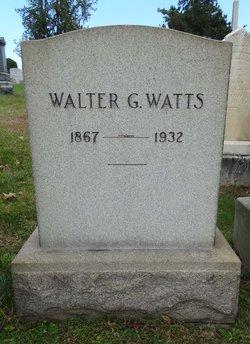 Walter G Watts