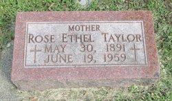 Rose Ethel Taylor