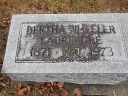 Bertha <I>Wheeler</I> Laurimore