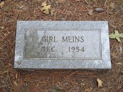 'Girl' Meins