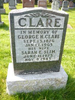 Sarah E <I>Slim</I> Clare