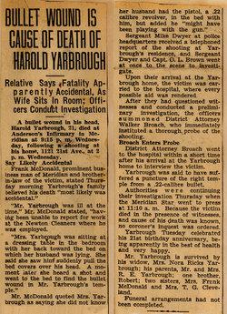 Harold Yarbrough