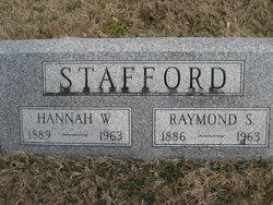 Hannah W Stafford