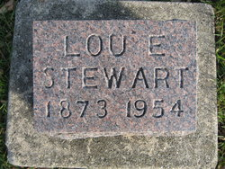 Louie Estella <I>Pierce</I> Stewart