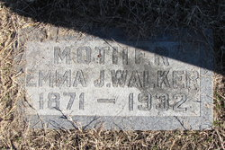 Emma J. <I>Boswell</I> Walker