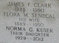 Flora M. <I>Senecal</I> Clark