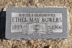 Ethel May <I>Lewis</I> Bowers