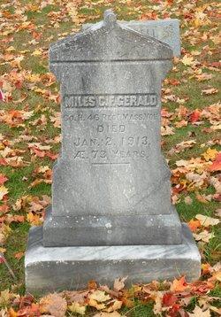 Miles C. F. Gerald