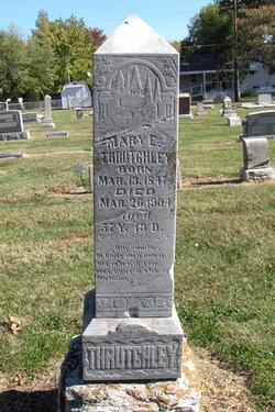 Mary Elizabeth <I>Mote</I> Thrutchley