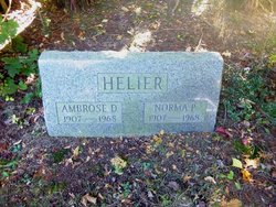 Norma <I>Porterfield</I> Helier