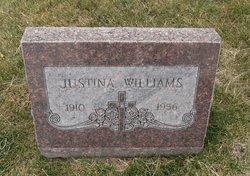 Justina <I>Linch</I> Williams