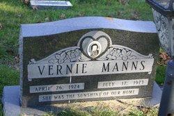 Vernie <I>Wicker</I> Manns