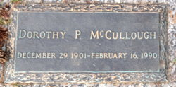 Dorothy P. McCullough