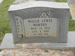 Willie Lewis Worthy
