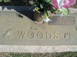 Lola F <I>Briscoe</I> Woods