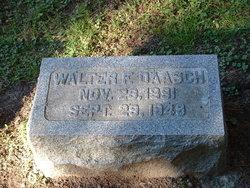 Walter F Daasch