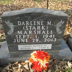 Darlene M. <I>Stark</I> Marshall