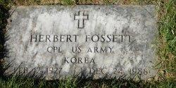 Herbert Fossett