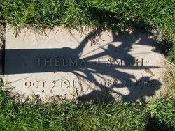 Thelma J Smith