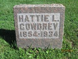Hattie L <I>Johnson</I> Cowdrey