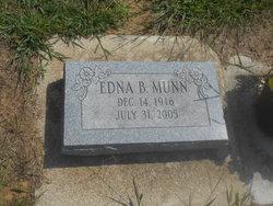 Edna B <I>Bierley</I> Munn