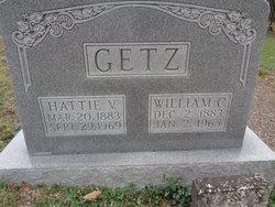 Hattie Virginia <I>Sites</I> Getz