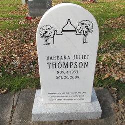 Barbara Juliet Thompson