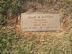 """Isaac Benjamin """"Ike"""" Patton"""