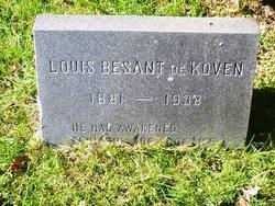 Louis Besant de Koven