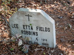 Lee Etta <I>Fields</I> Robbins