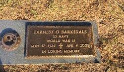 "Earnest O ""Ernie"" Barksdale"