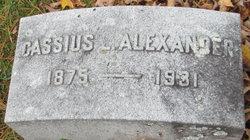 Cassius Lynn Alexander