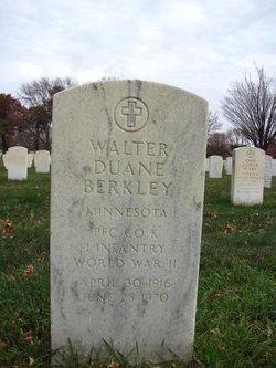 Walter Duane Berkley