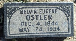 Melvin Eugene Ostler