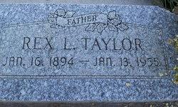 Rex LaVor Taylor