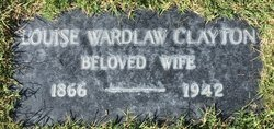 Louise <I>Wardlaw</I> Clayton
