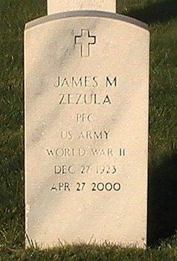 PFC James M. Zezula