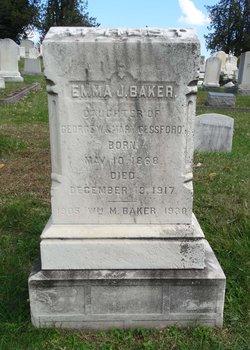 Emma J. <I>Gessford</I> Baker